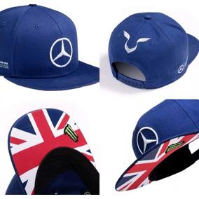 f540447fd44e6 Gorra Mercedes Amg Petronas Lewis Hamilton Inglaterra 2016