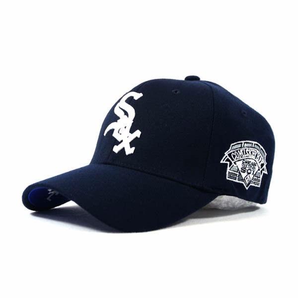 0d8c951a04fe0 Gorras Baseball Cerradas Chicago White Sox Flexfit Mlb -   2.790