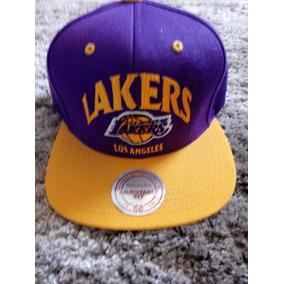 d358f8febb306 Gorra New Era Lakers Los Angeles Mitchell   Ness
