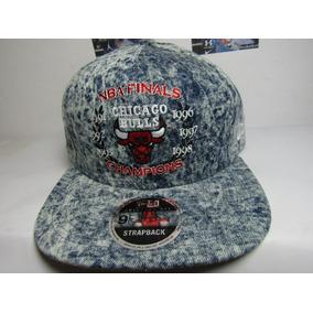 680ea4a0d5837 Gorra New Era Chicago Bulls Denim Champions Autentica