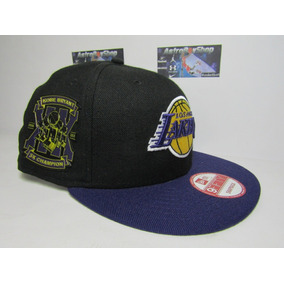 ee7d207af5f70 Gorra New Era Lakers Kobe Bryant 5x Champs Limited Edition