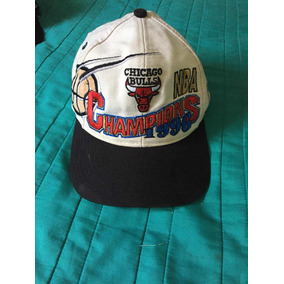 f7f41e5aa7966 Gorra Chicago Bulls Logo Athletic 90s Campeones 1996 Nba