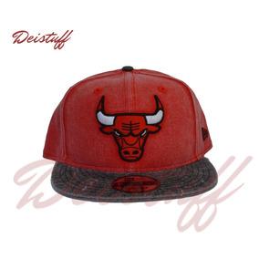 fa7c4c5391877 Gorra Chicago Bulls Mezclilla en Mercado Libre México