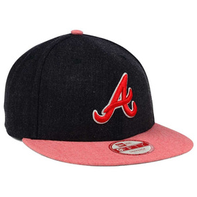f531a3d821839 New Era 9fifty Atlanta Braves Heather Action Gorra Ajustable