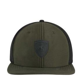 39b0e5d4afe99 Gorra Puma Cap Sf Ls Flatbrim Cap 7702 Verde Militar