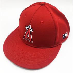 16a556378537d Gorra De Beisbol Original Mlb Team Angelinos Rojo Cerrada