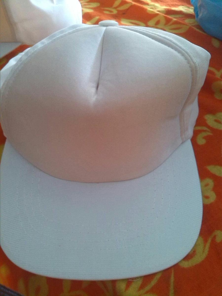Gorras Blancas Para Pintar 17f920298c1