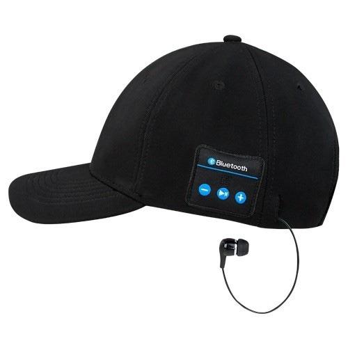 gorras bluetooth negras y gris las conectas a tu celular