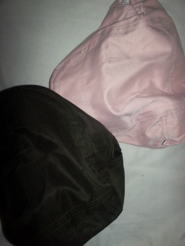 gorras boinas en tela drill satinada importadas unisex