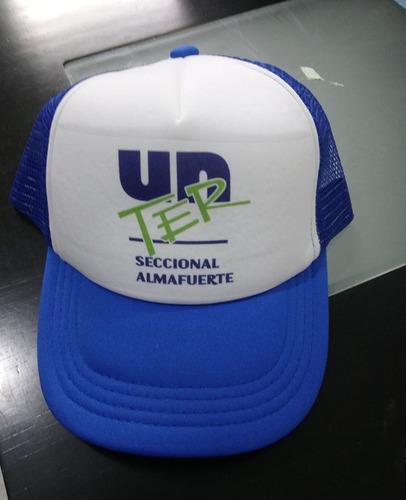 gorras bordadas o estampadas