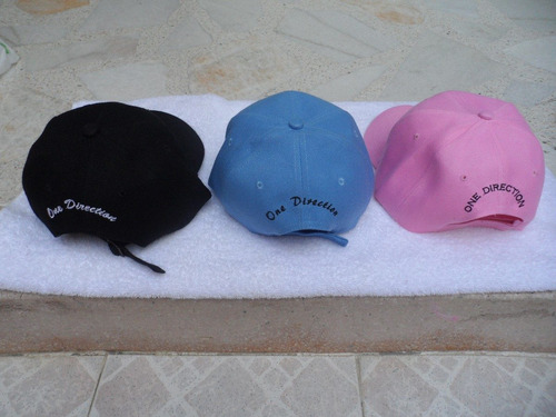 gorras bordadas one direction