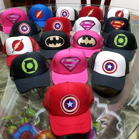 Gorras-cachuchas De Super Heroes Hombre-mujer-niños -   70.000 en Mercado  Libre 274a14353ce