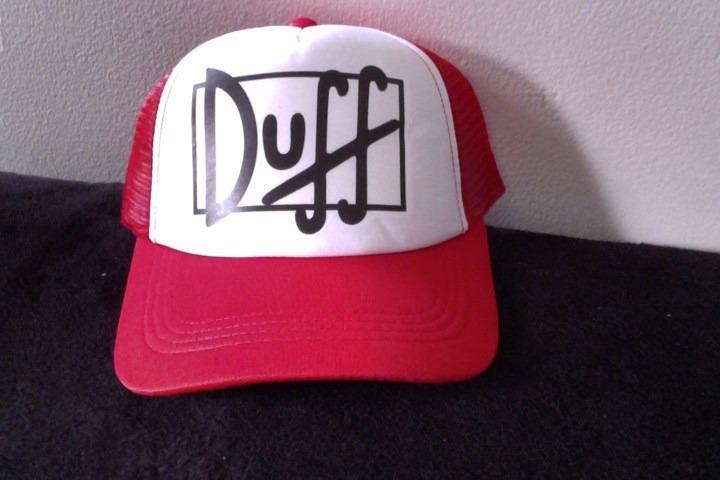 68cba839e7f Gorras Camioneras Personalizadas Para Disfraz De Duff Man - $ 12.000 ...