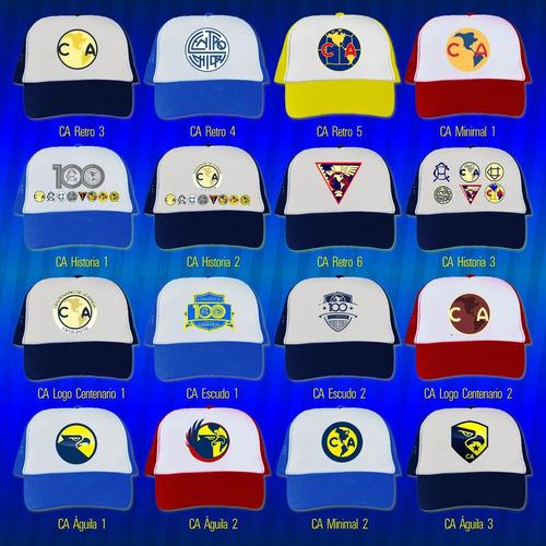 gorras club américa centenario, retro, 100 años de grandeza
