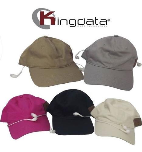 gorras con audífonos conexión bluetooth