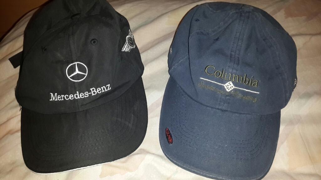 Gorras Con Visera Columbia + Mercedes Benz Con Nombre Andrés -   674 ... e4fc2d51998