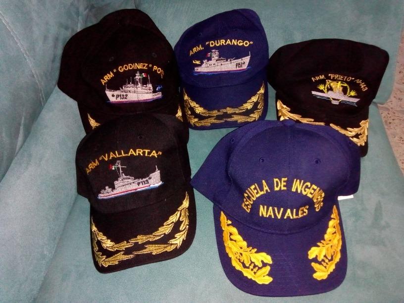 Gorras De Barcos De La Armada De Mexico -   999.00 en Mercado Libre a1d50680319