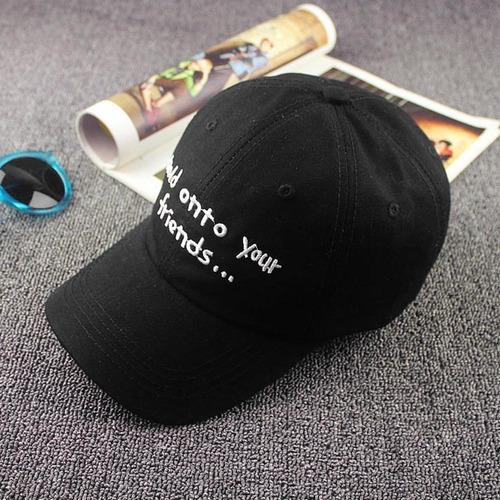 gorras de béisbol casuales letras hip hop unisex al aire lib
