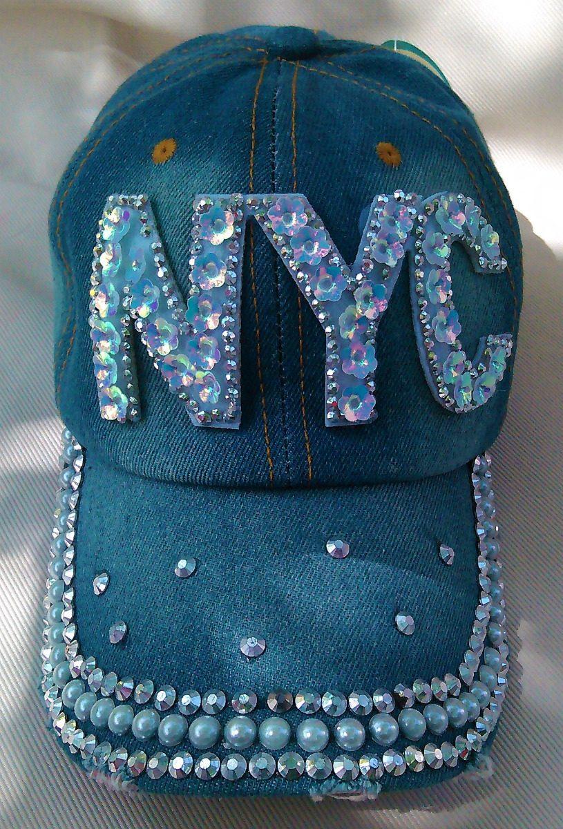 gorras de jeans decoradas dama. Cargando zoom. af8f3e5a02e