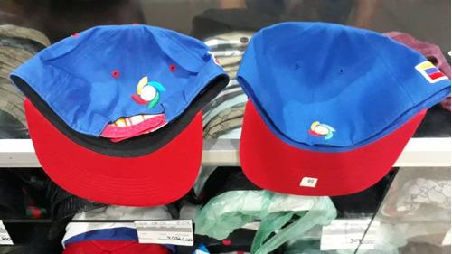 gorras de la vinotinto  plana de la serie del caribe