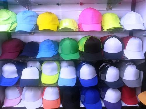 gorras de malla para sublimar al mayor