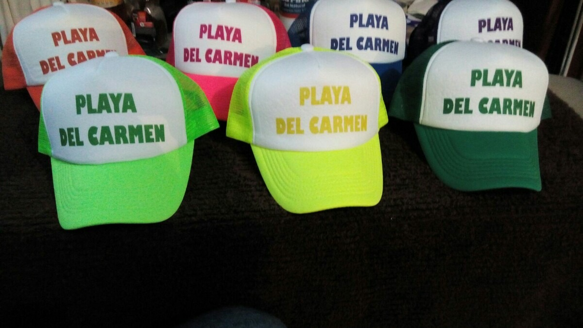 gorras de malla personalizadas paquete 100 pzs envío gratis. Cargando zoom. be8a2cbd4e2