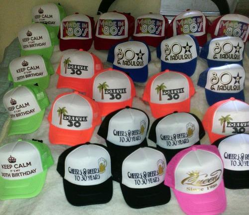 gorras de malla personalizadas paquete 100 pzs envío gratis.