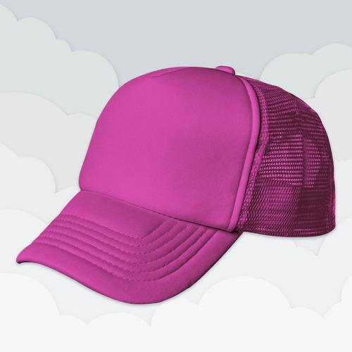 gorras de malla  trucker lisa y combinada