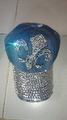gorras de mezclilla hermosas