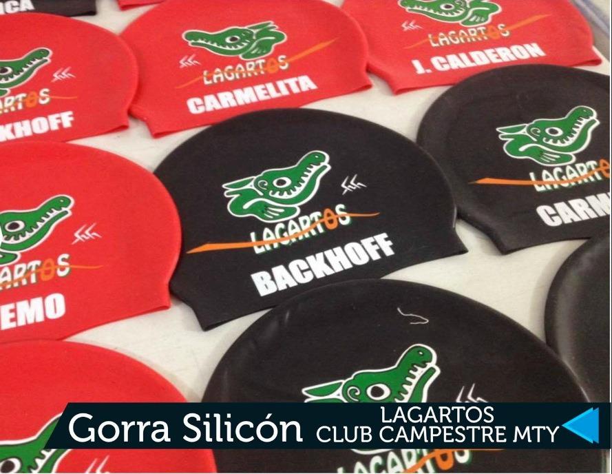 Gorras De Natación Personalizadas -   100.00 en Mercado Libre c7bd932b215