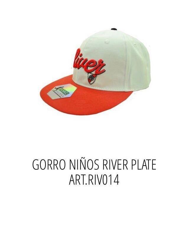 Gorras De Niño River Futbol Con Licencia Oficial -   505 73cac79b9cb