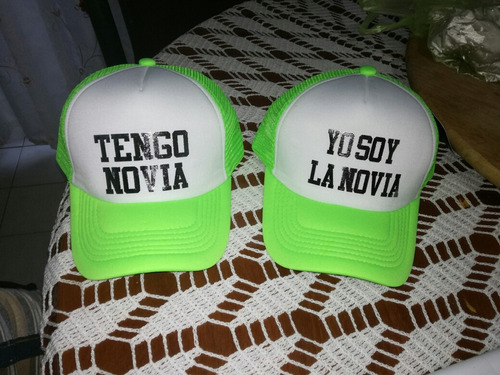 gorras de pareja personalizadas