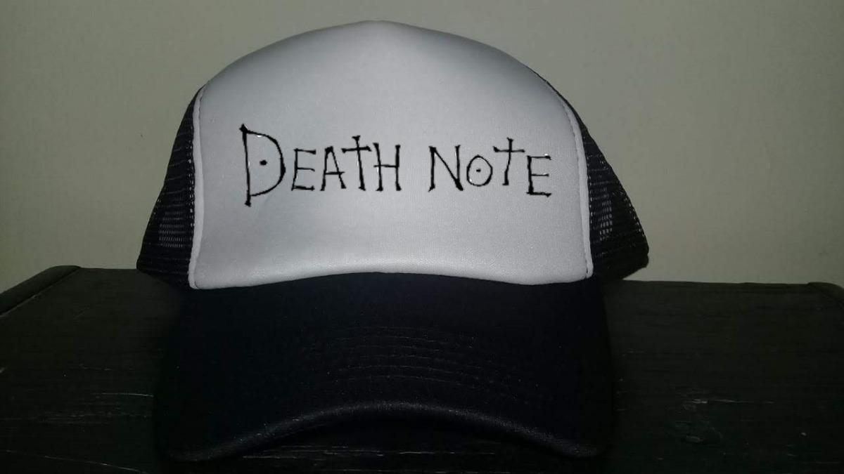 Gorras De Tipo Truker De Punisher Death Note 32e02959b03