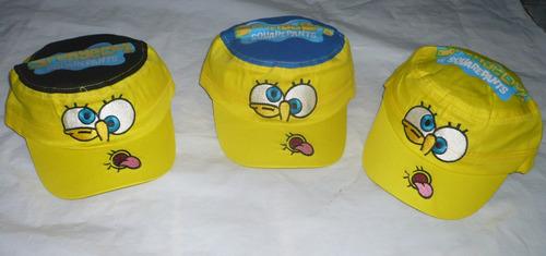 gorras deportivas animadas bob esponja disney 3 a 6 años