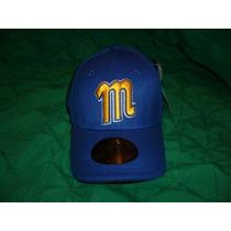 Gorra Azul- Arqueada- L/xl- Hombre- Magallanes- Modelo 4