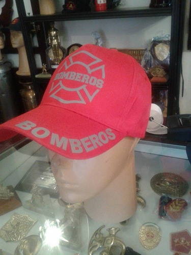 gorras estampadas bomberos roja !!!!