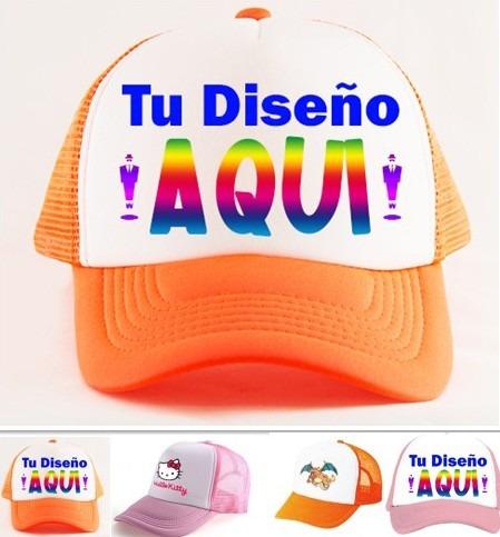 Gorras Estampadas De Malla Personalizadas Docena -   6.000 en ... fad824bd4de