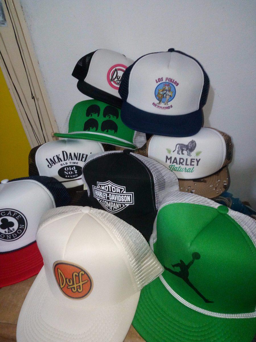 gorras estampadas + personalizadas + pack x 10 unid. Cargando zoom. 29d89c29990