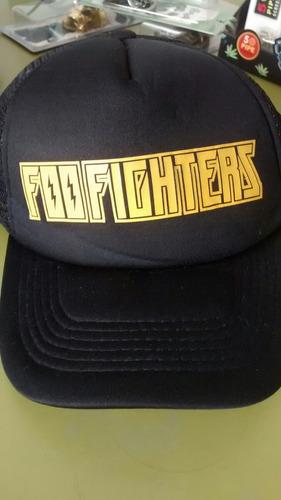 gorras foo fighters trucker grunge promo 2x1 + envío gratis!