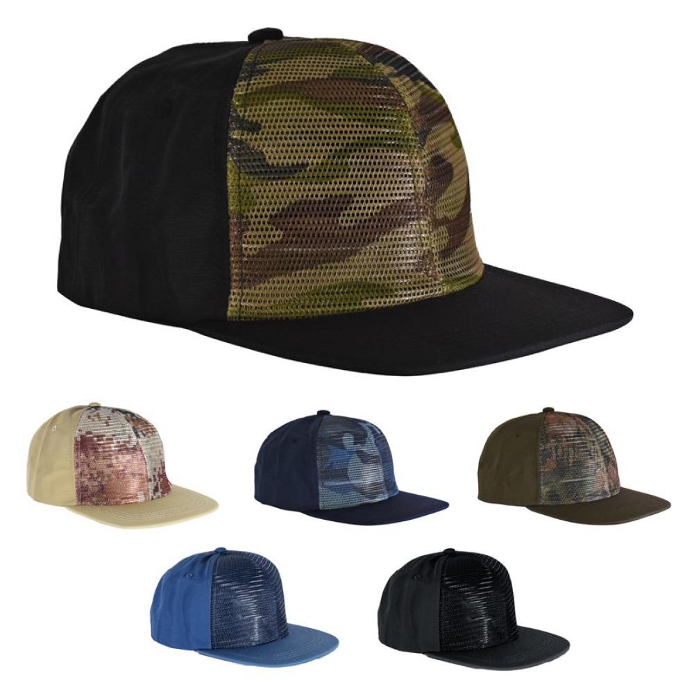 gorras frente de red camuflado colores visera plana x 50 un. Cargando zoom. 8a09931420a