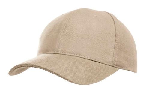 gorras gabardina gris de 5 y 6 gajos lisas