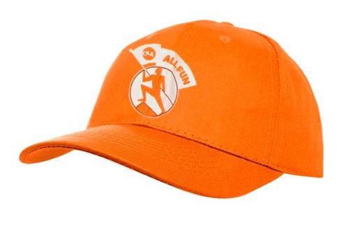 gorras gabardina lisas color naranja
