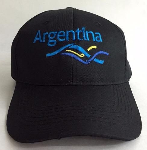 gorras gabardina negras bordadas o estampadas a un color