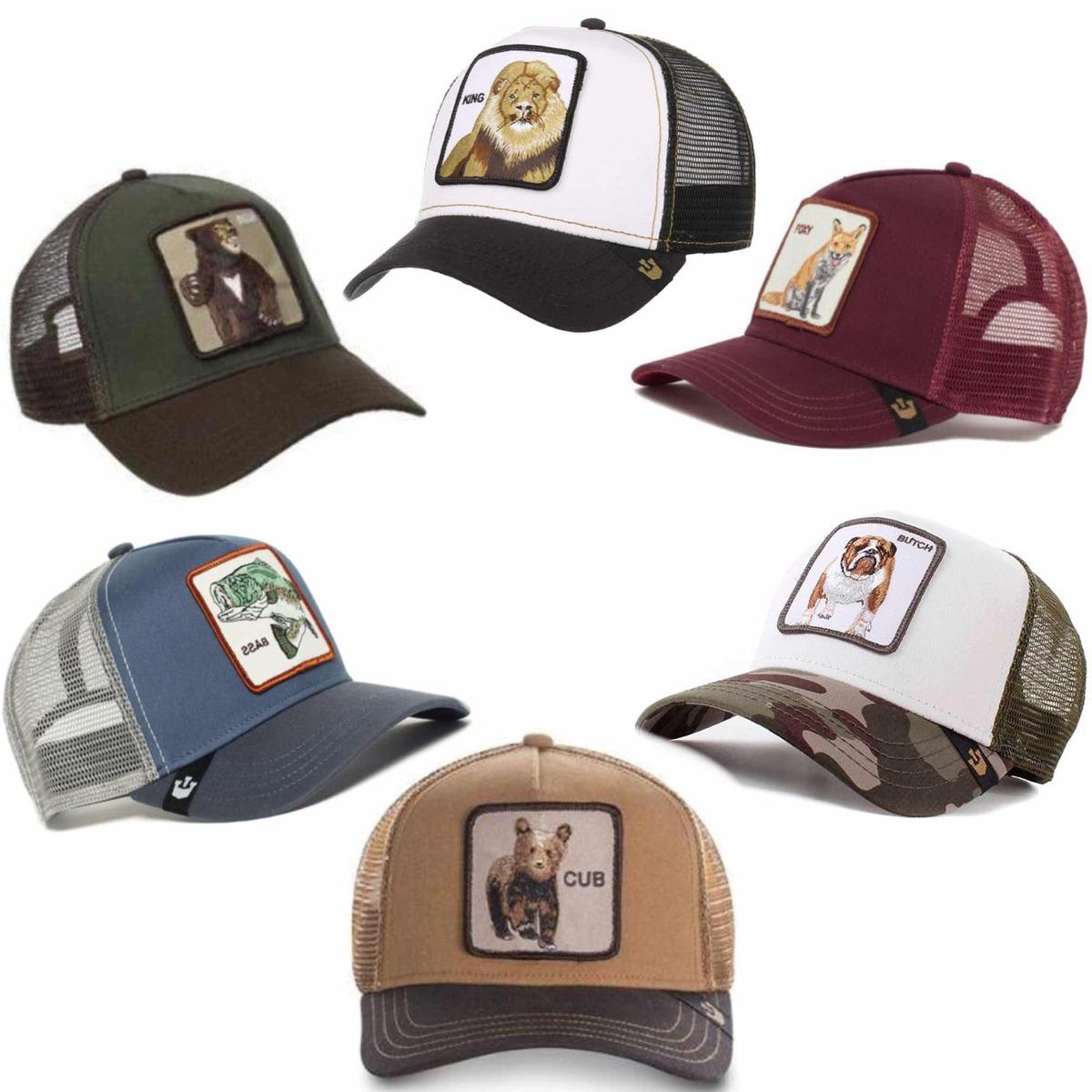 7395a18d3c71 Gorras Goorin Bros, Coleccion Beisbol Trucker,diseño Animal