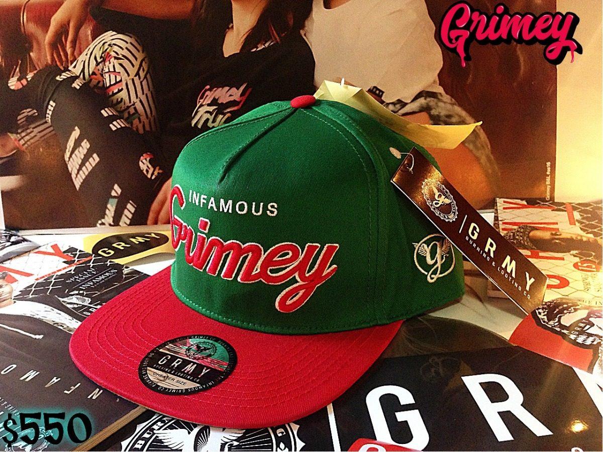 Gorras Grimey Burning And Looting Co. -   650.00 en Mercado Libre 03296ebda22