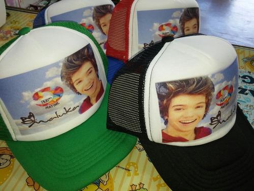 gorras impresas sublimadas personalizadas