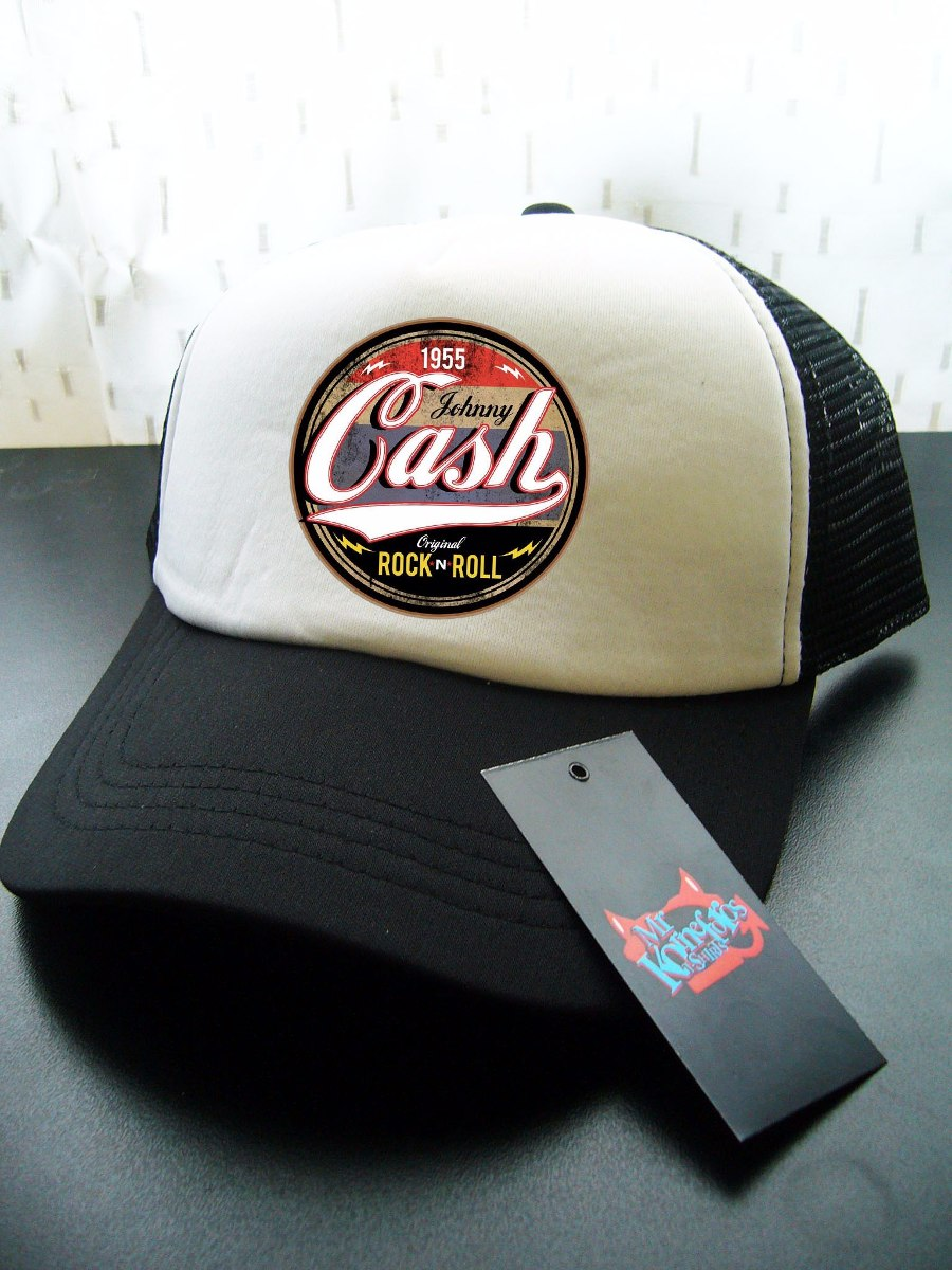 Gorras Johnny Cash Rock Musica Metal Punk  5d1a89034f1
