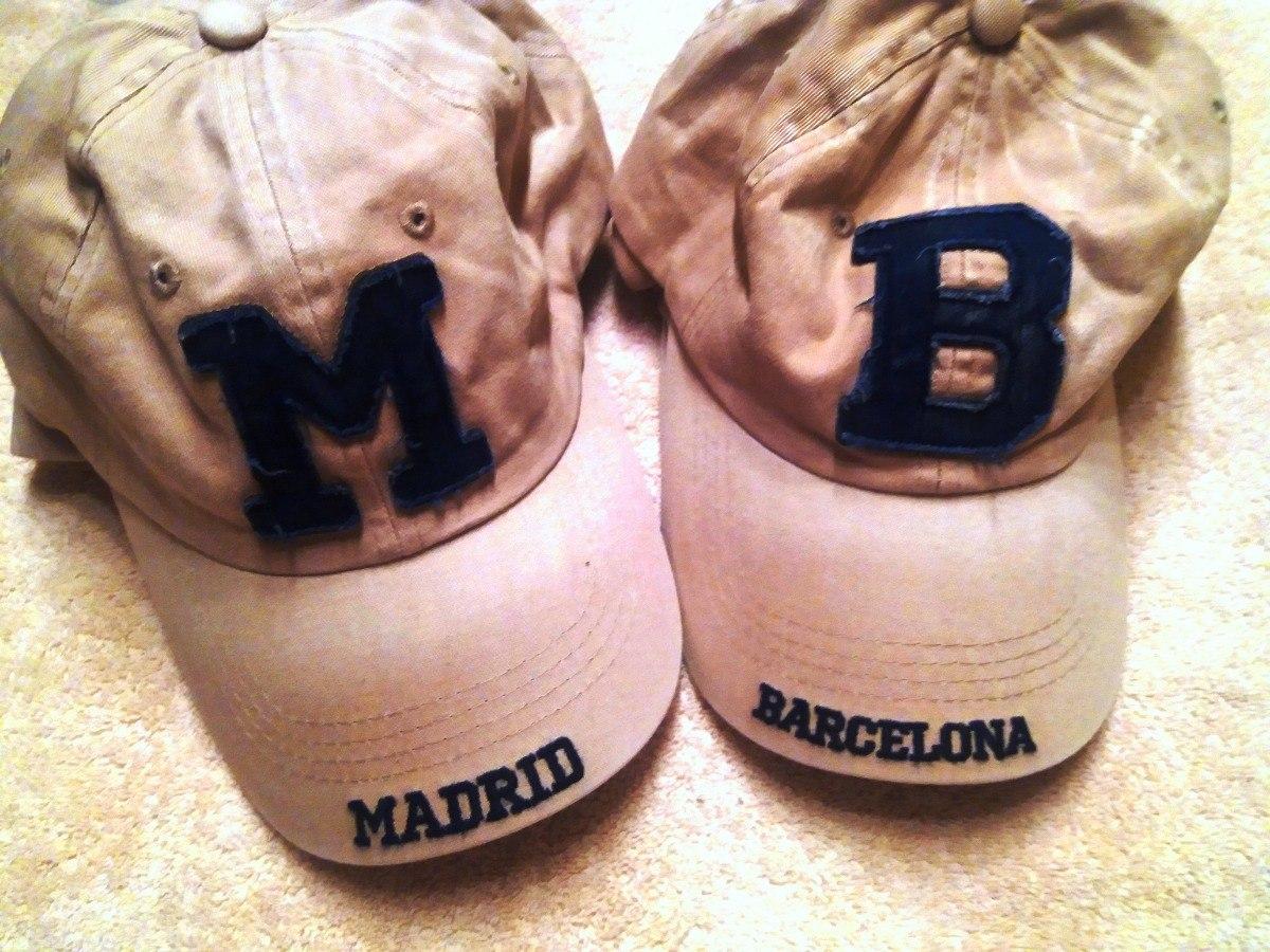 0f57470ee9d19 Gorras Mb - Madrid   Barcelona - Nuevas Ajustables -   15.000 en ...