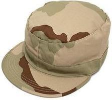 gorras militares en camuflaje del desierto, varias tallas