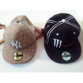 f1f6d3b872d31 Gorras Planas 59fifty Nuevas De Los Yankees Y Monster Energy